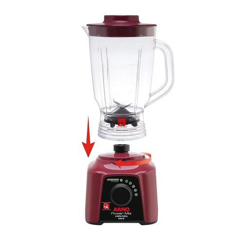 Liquidificador Arno Limpa Fácil LQ32 Vinho
