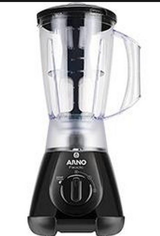 Liquidificador ARNO LN-38 NEW FACICLIC 127V Preto