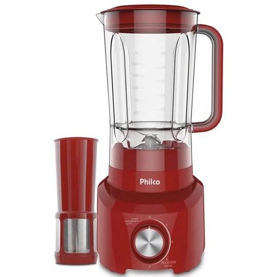 Liquidificador Philco PLQ1010 900W Vermelho 127V
