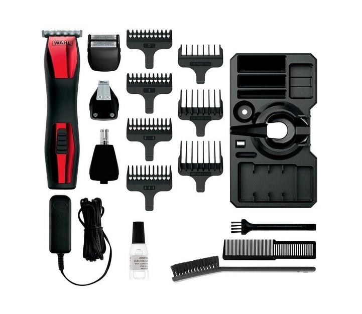 Maquina de cortar cabelo Wahl Groomsman T-Pro Vermelho