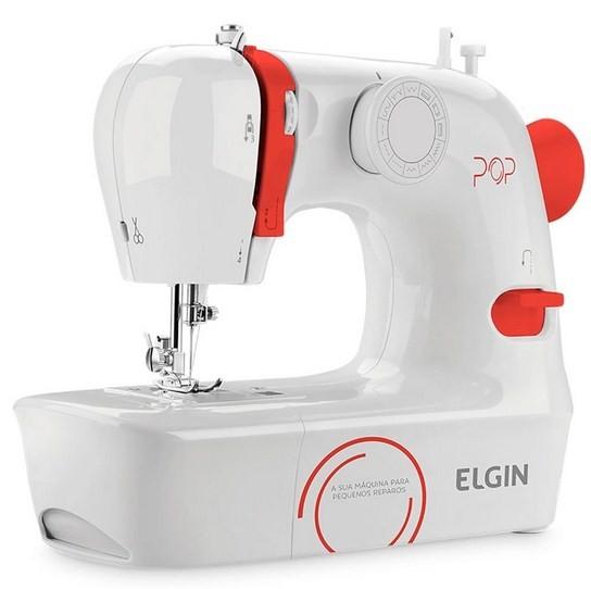 Máquina de Costura Elgin Pop BL1009 Portátil 127V