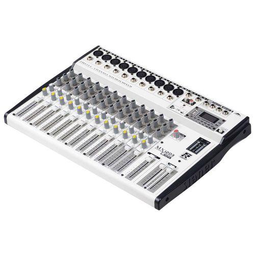 Mesa de Som Misturador Staner MX-1203 USB 12 Canais