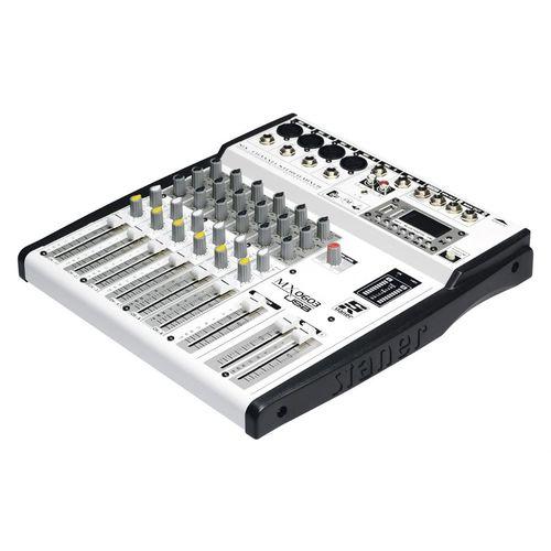 Mesa De Som misturador Staner MX0603 Mixer 6 Canais