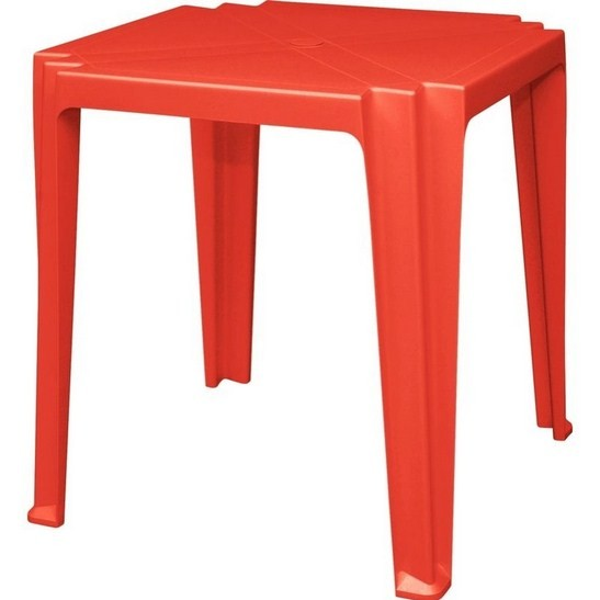 Mesa Plástica Tambaú 92314/040 Vermelho Tramontina