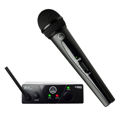 Microfone Sem fio AKG Mini Vocal Wms40