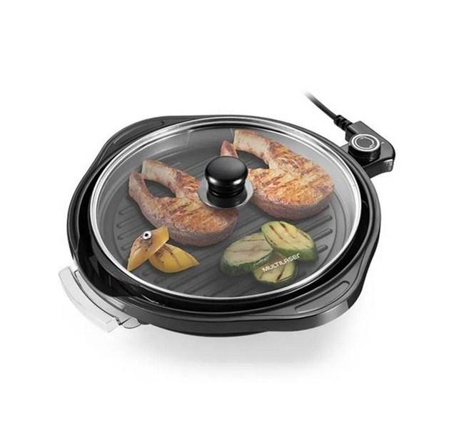 Panela Grill Multilaser Gourmet CE053 30cm 127V