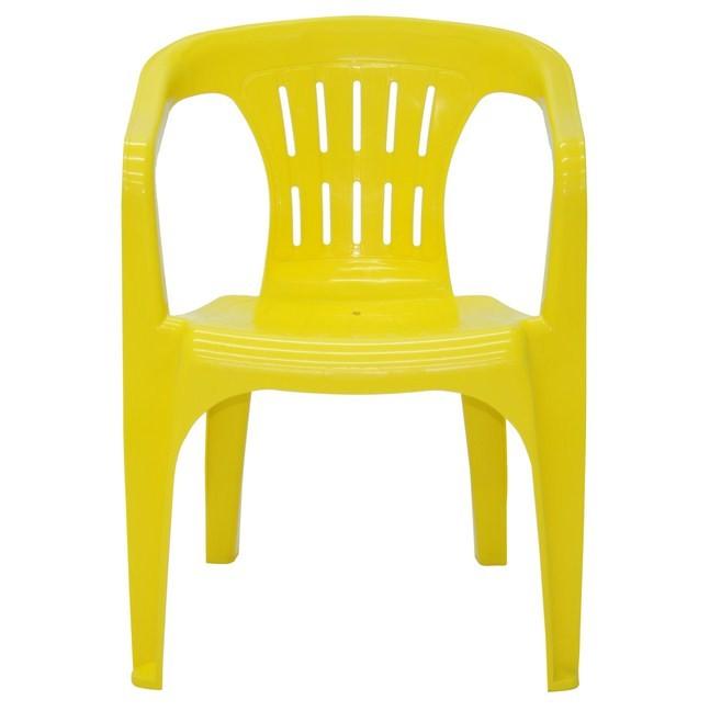 Cadeira Atalaia 92210/000 Amarela Tramontina