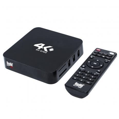 Receptor Smartbox Bedin Sat  1GB 4K BS-9700