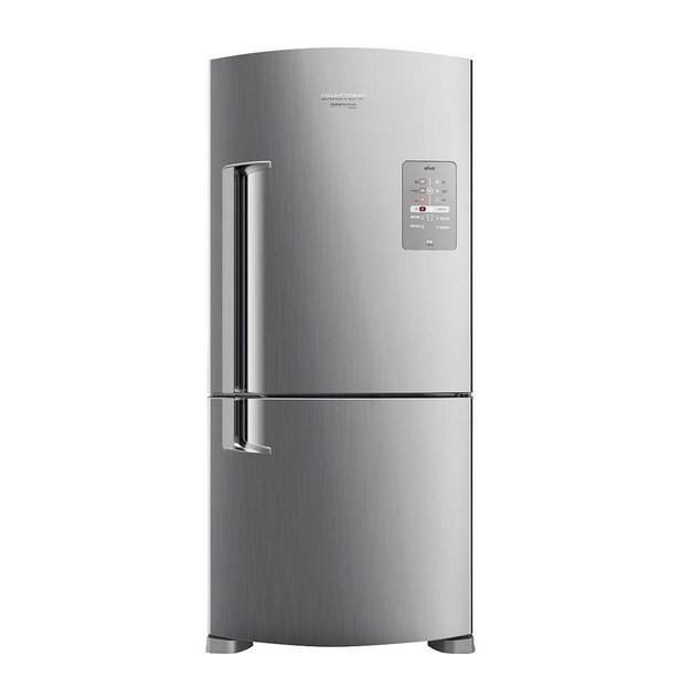Refrigerador Brastemp BRE80 2P 573L 127V Inox