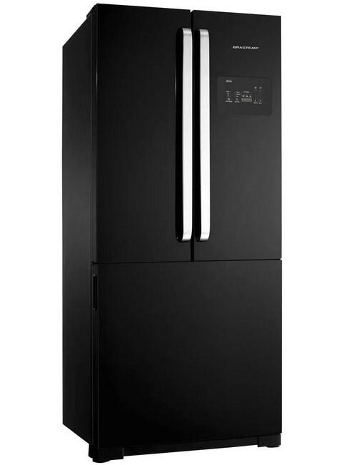 Refrigerador Brastemp BRO80AEANA 3Pts 540L 127V Preto