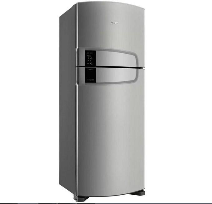 Refrigerador Consul CRM55 2Pts 437L 127V Inox