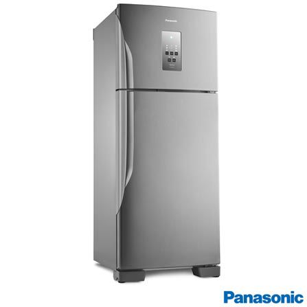 Refrigerador Panasonic NR-BT51PV3X Frost Free 02Pt  435L Inverter Aço Escovado