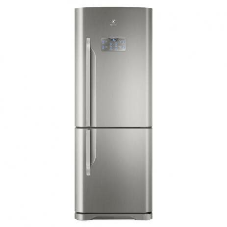 Refrigerador Electrolux IB53X Bottom Freezer Inverter Inox 454Lt   127V