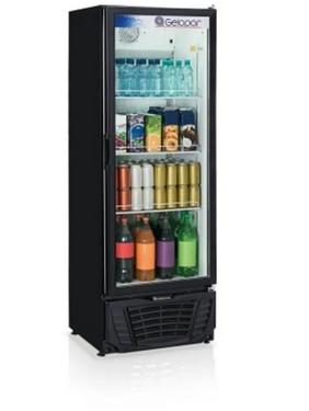 Refrigerador Gelopar GPTU-40 414 Litros Preto 127V