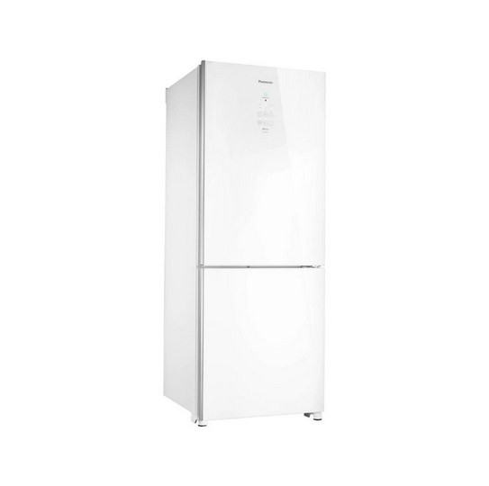 Refrigerador Panasonic NR-BB53GV3WA Inv White Glass