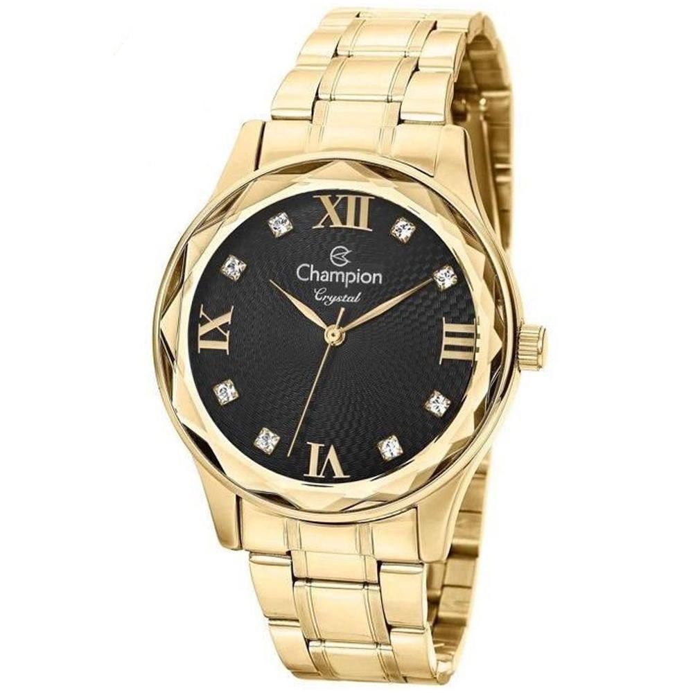 Relógio Feminino Champion Analógico CN27465P - Dourado