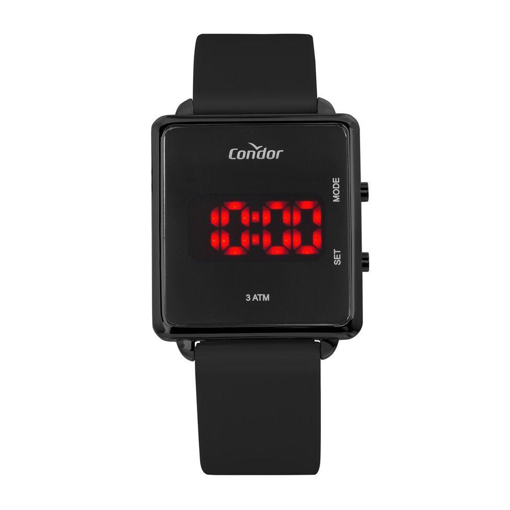 Relógio Feminino Condor Digital Led COJHS31BAE/2P