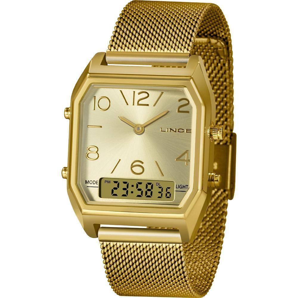 Relógio Feminino Lince LAGH119L-C2KX Dourado