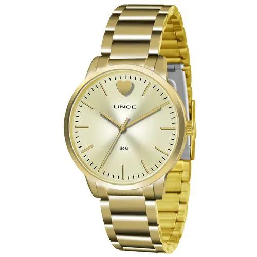 Relógio Feminino Lince LRG611L C1KX Dourado