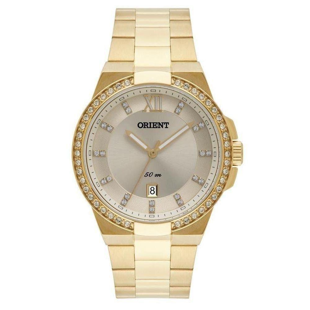 Relógio Feminino Orient FGSS1140-C3KX Dourado