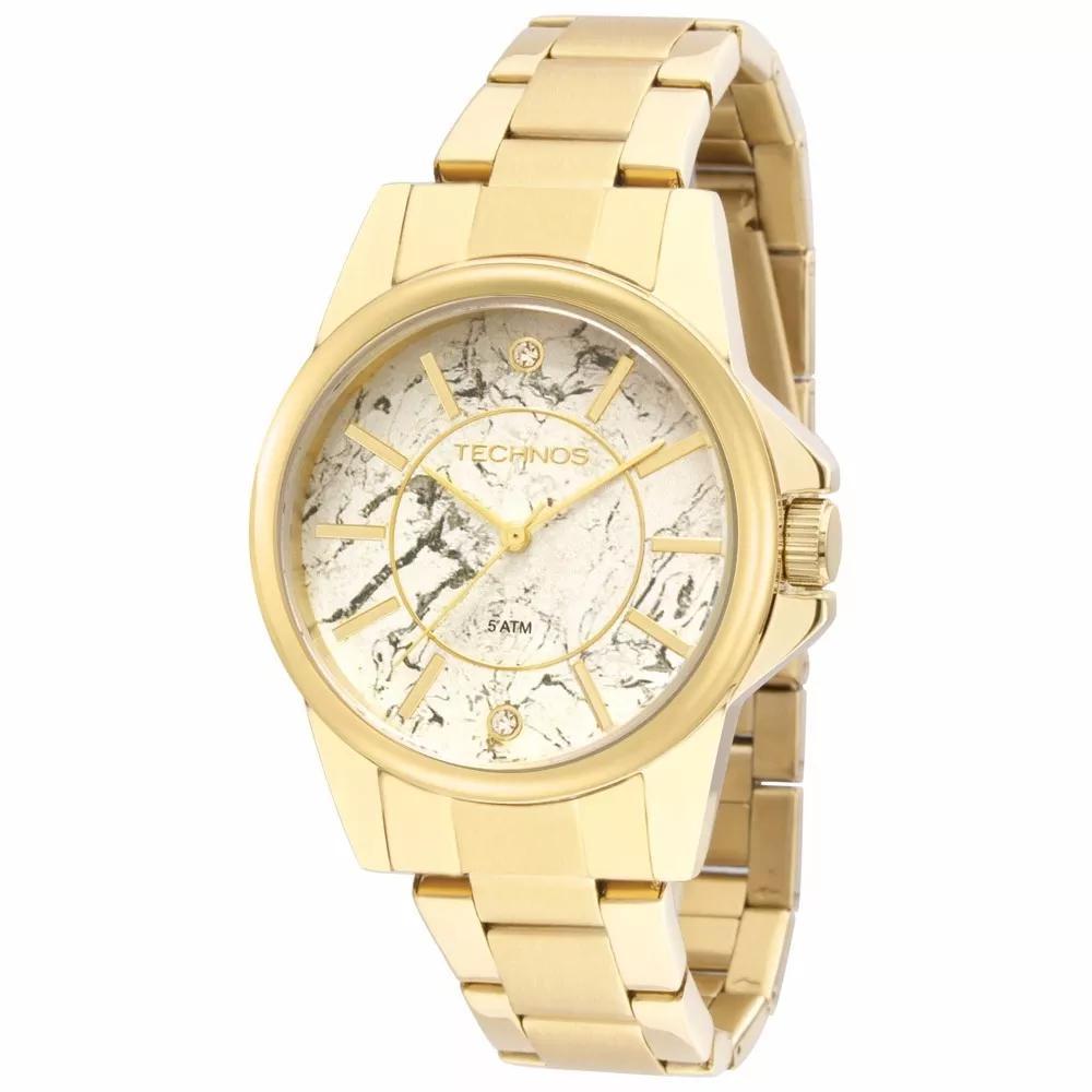 Relógio Feminino Technos 2036mem/4b Dourado