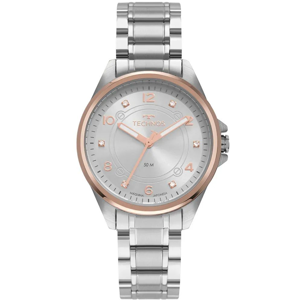 Relógio Feminino Technos Prata 2035mrp/1k