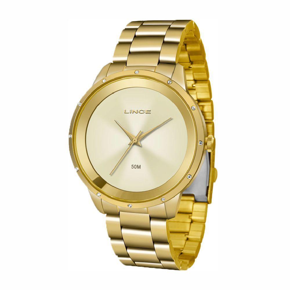 Relógio LINCE LRG619L-C1KX - Dourado