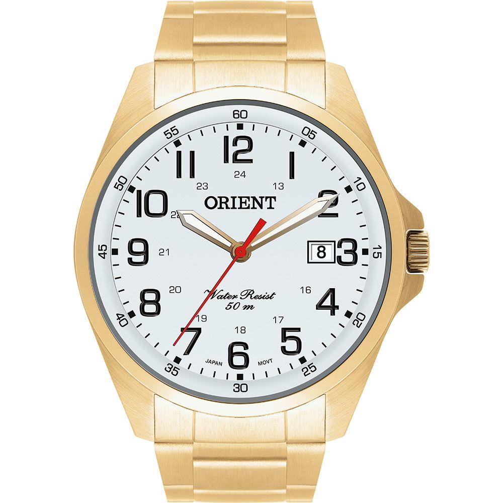 Relógio Masculino Orient Analógico MGSS1048-S2KX Dourado