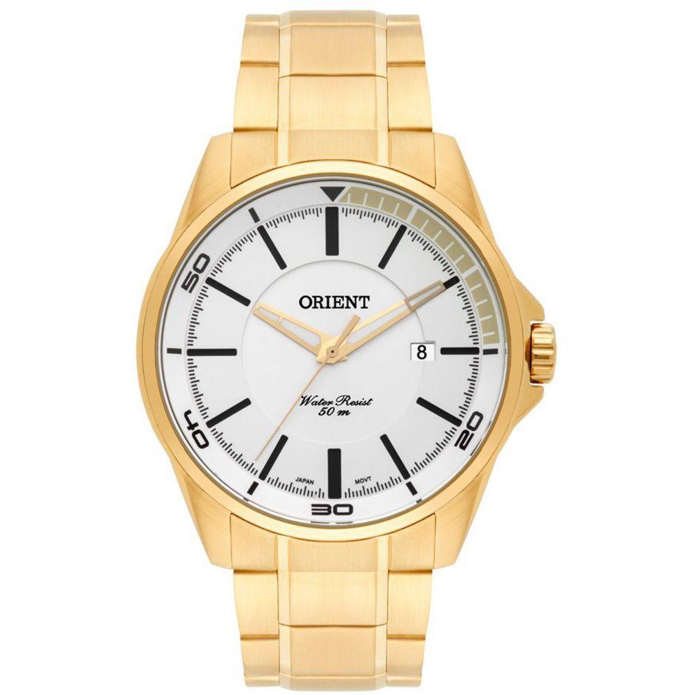 Relógio Masculino Orient MGSS1130 S1KX Dourado
