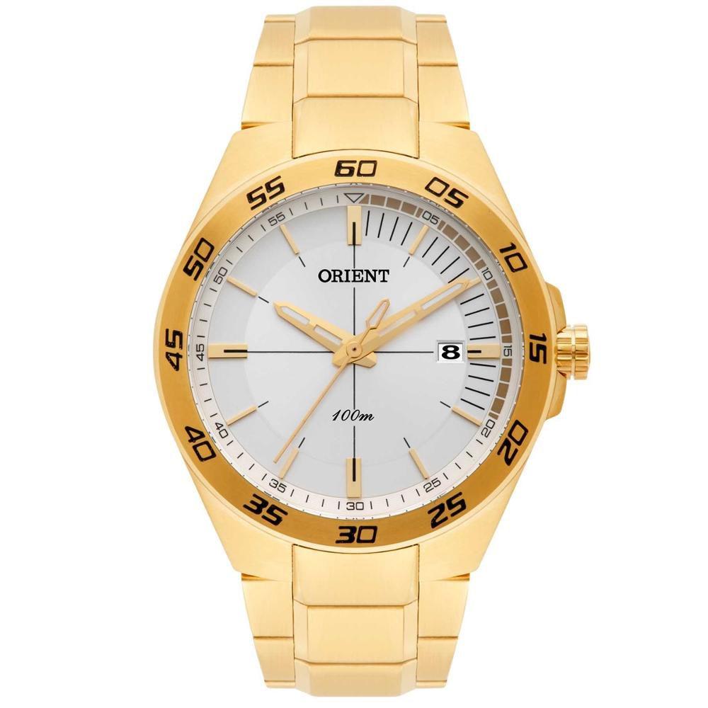Relógio Masculino Orient MGSS1132 B1KX Dourado