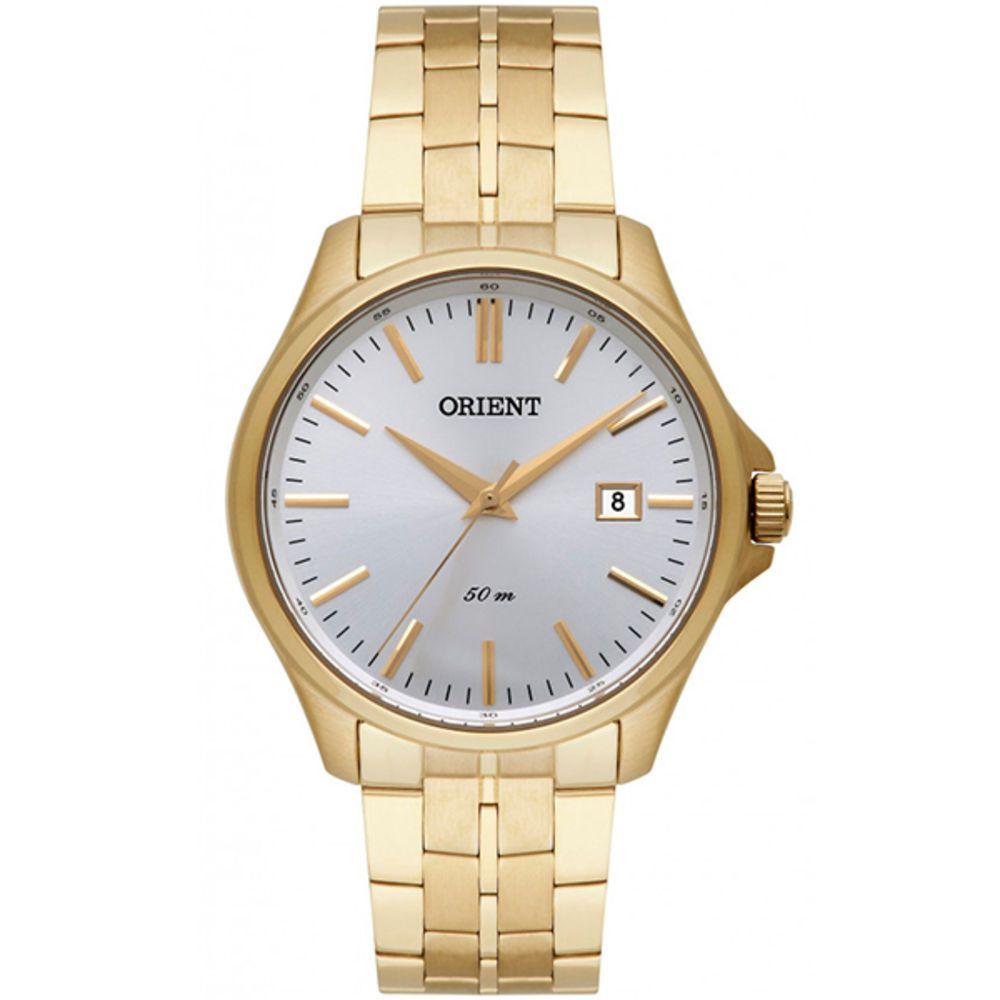 Relógio Orient Masculino Analógico MGSS1155  Dourado