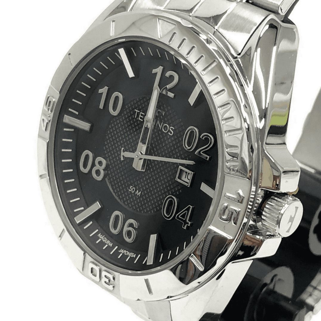Relógio Masculino Technos 2117LCB/1P Prata