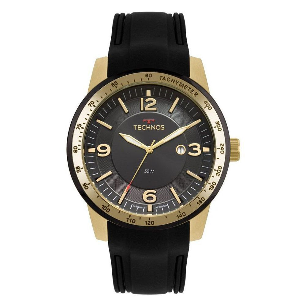 Relógio Masculino Technos Silicone 2117LBB8P