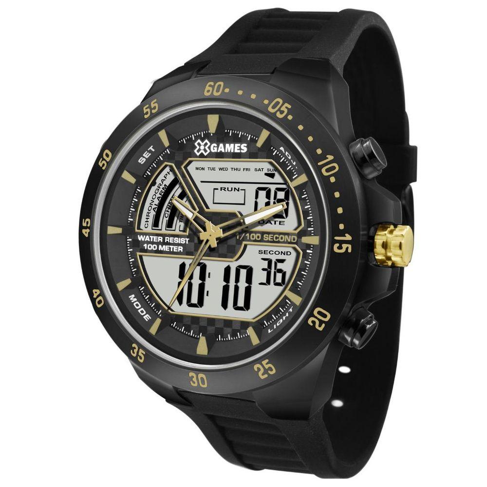 Relógio Masculino X-Games XMNPA006 BXPX Preto