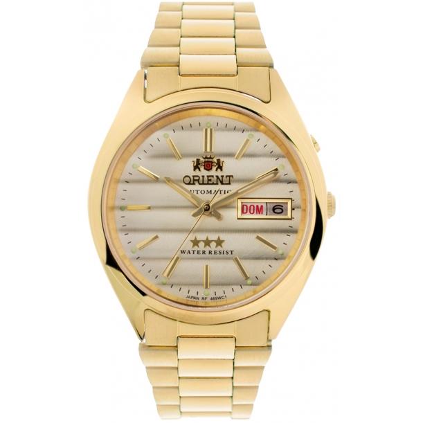 Relógio Orient Masculino Automático 469WC2 Dourado