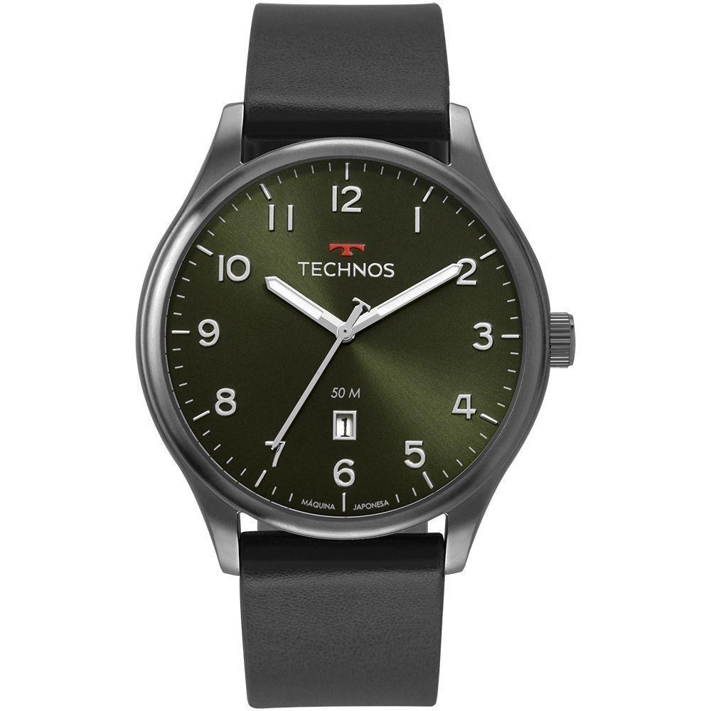 Relógio Technos Masculino Casual Classic Steel 2115MVB/2V