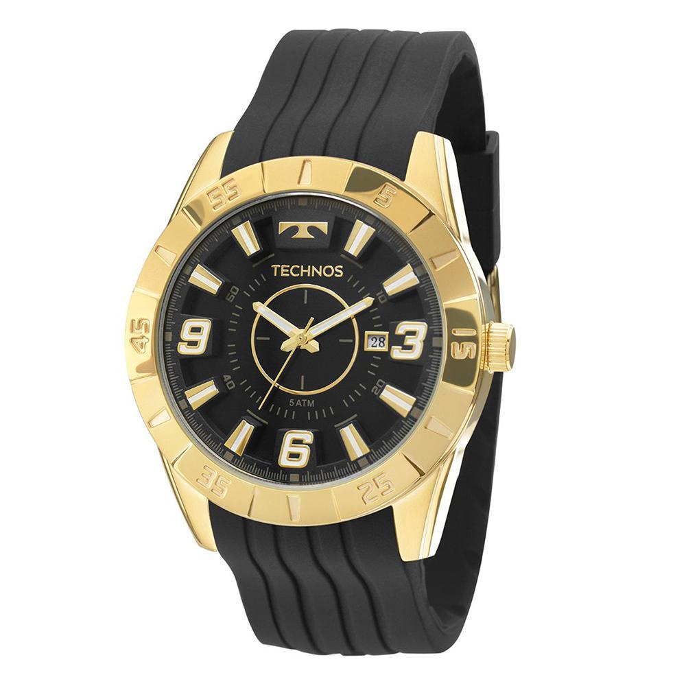 Relógio Technos Masculino Sport Dourado 2115KZA8P