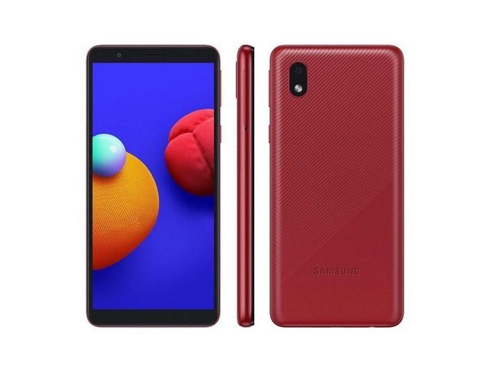 Smartphone Samsung Galaxy A01 A013M Core 32GB Vermelho