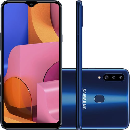 Smartphone Samsung Galaxy A20s 32GB Dual Chip Android 9.0 Tela 6.5