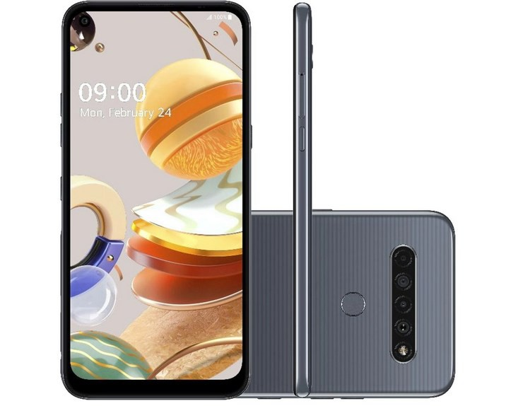 Smartphone K61 LG Dual Chip Android 9.0 Pie 6.53