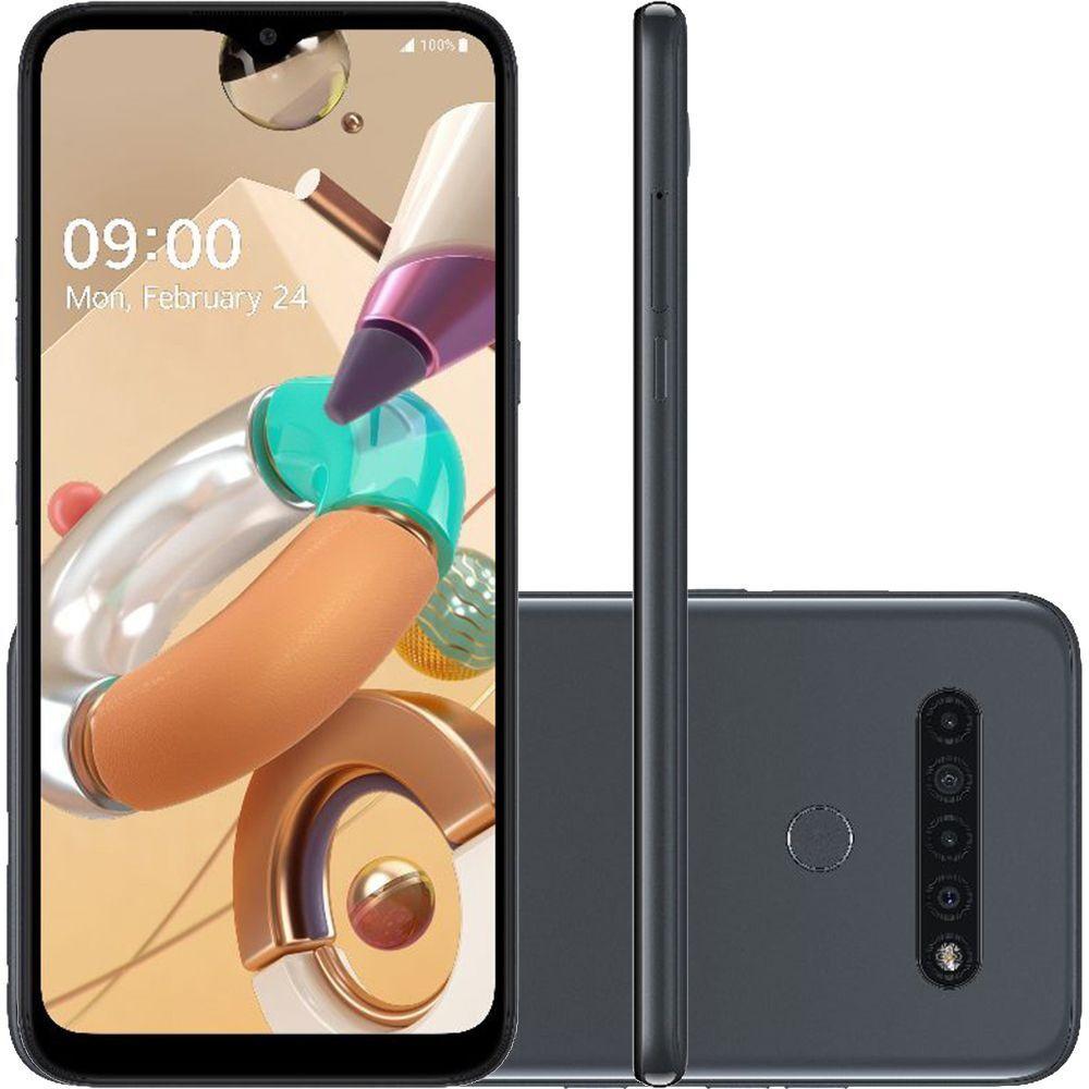 Smartphone K41S LG 32GB Octa Core Titânio