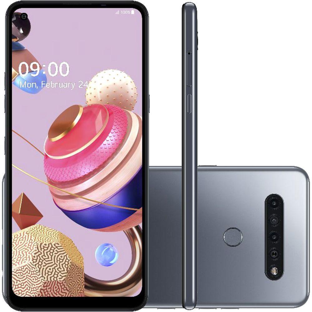 Smartphone LG K51S 64GB 4G Titânio