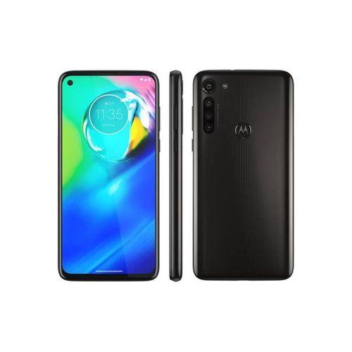 """Smartphone Motorola Moto G8 Power 64GB, Tela de 6.4"""" FHD+, Câmera Traseira Quádrupla, Android 10 e Processador Qualcomm Octa-Core Preto"""