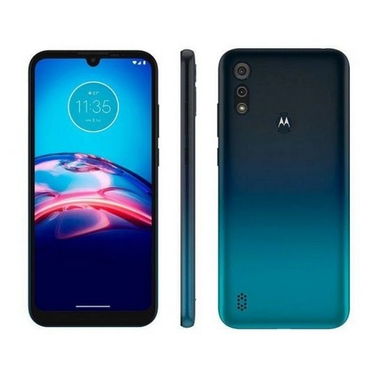 Smartphone Motorola Moto XT2053 E6S 4G 64Gb Azul Navy