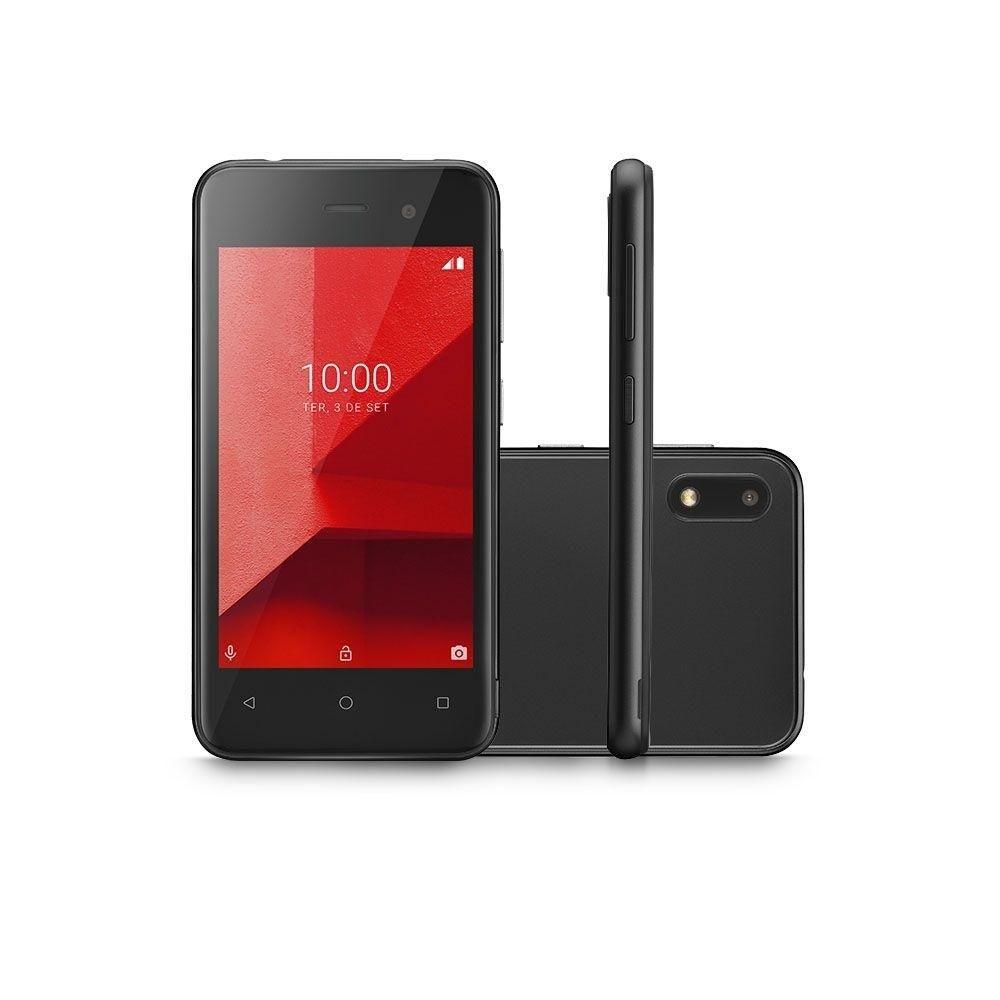 Smartphone Multilaser E Lite 16gb Tela 4.0 Quad Core Preto