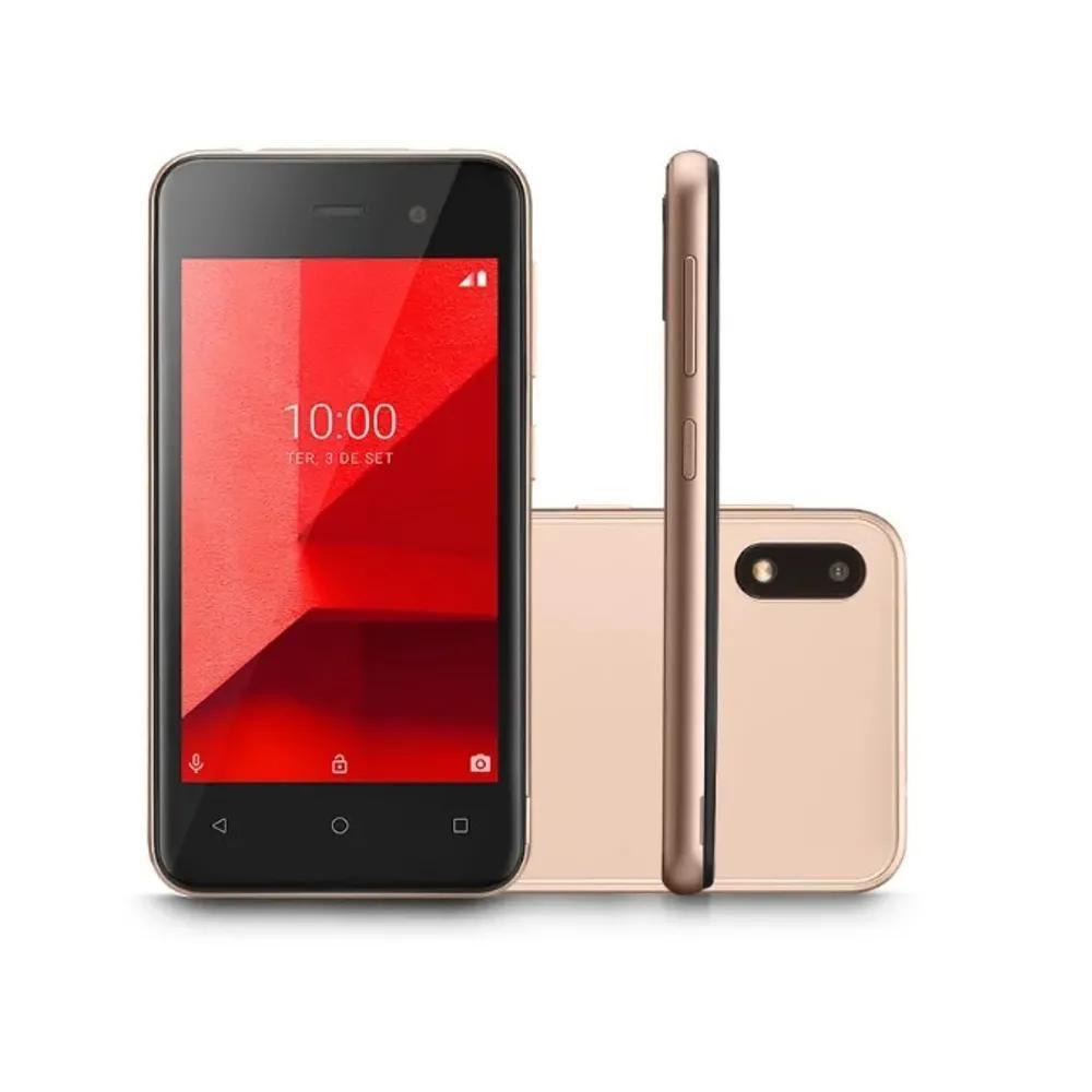 Smartphone Multilaser E Lite 3G 16Gb Tela 4.0 Dourado-NB764