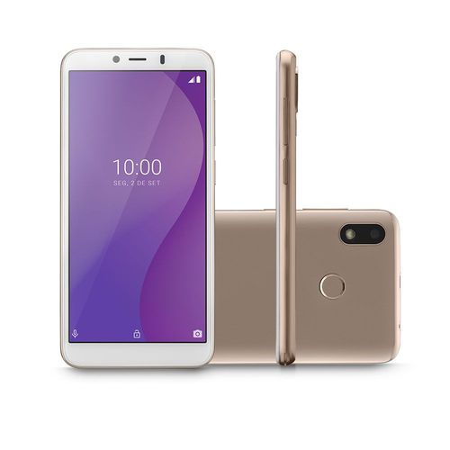 Smartphone Multilaser G Dourado 16GB - NB761