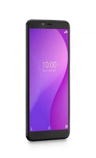 Smartphone Multilaser G Preto Octa Core Android 9 GO com Sensor de Digitais com RAM 4GB 32GB Tela 5.5