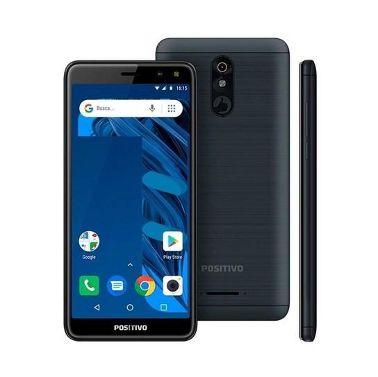 Smartphone Positivo S533 Twist 3 Pro 64GB Grafite