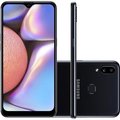 Smartphone Samsung Galaxy A10s 32GB Octa-Core 4G Preto